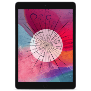 A 2017 iPad Pro 10.5 screen replacement service to repair cracked or broken glass in our shop.