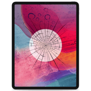 A 2018 iPad Pro 12.9 screen replacement service to repair cracked or broken glass in our shop.