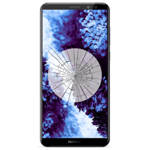 A Huawei Mate 10 Lite screen replacement service to repair cracked or broken glass in our shop.