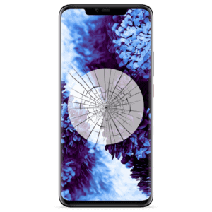 A Huawei Mate 20 Pro screen replacement service to repair cracked or broken glass in our shop.