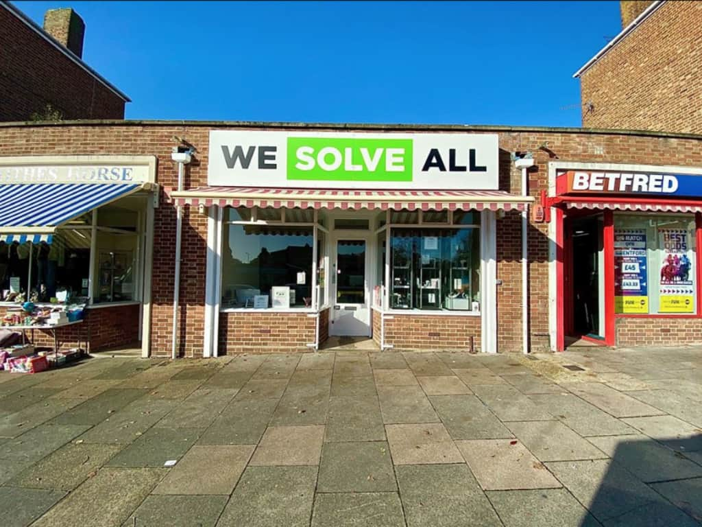 We Solve All computer, laptop, iPad and mobile phone repair Norwich shop.