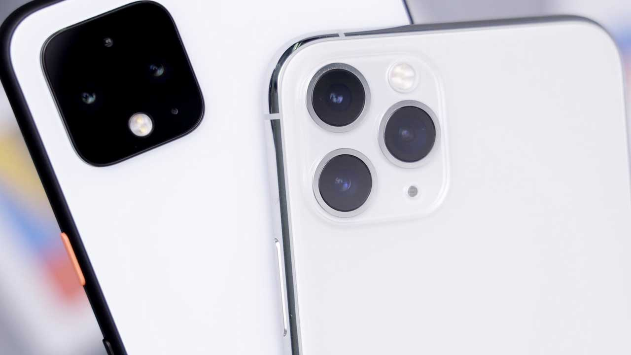 The best phones of 2019 iPhone 11 Pro and Google Pixel 3A.