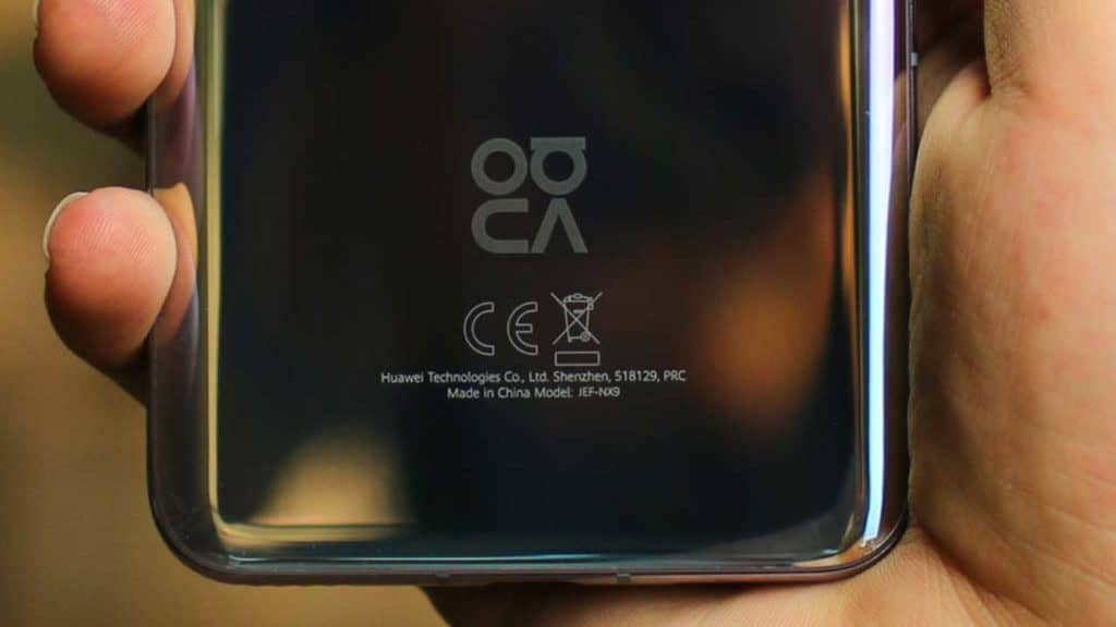 How to identify which Huawei phone you have by the model number on the back case.