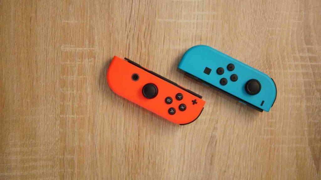 Nintendo Switch joy-con controller drift repair in our Norwich shop.