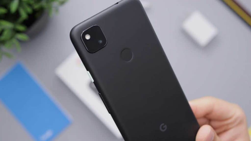 How to identify your Google Pixel 4a phone model from the camera lens.