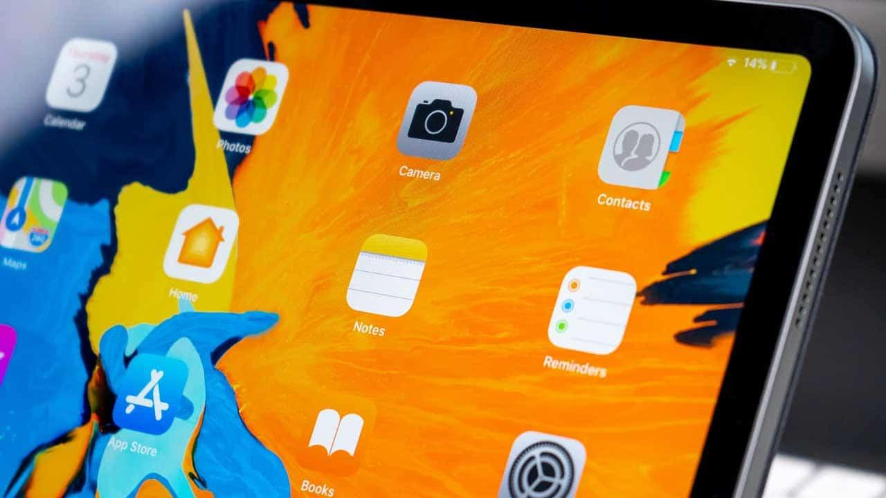 Change iPad screen repair to fix a cracked display.