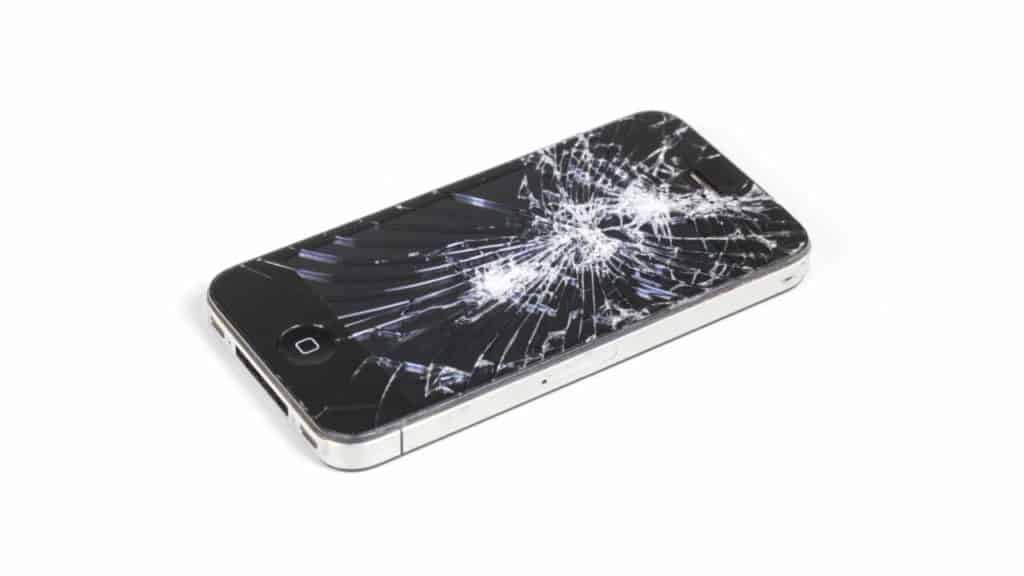 Downham Market phone repair needed for a smashed screen.