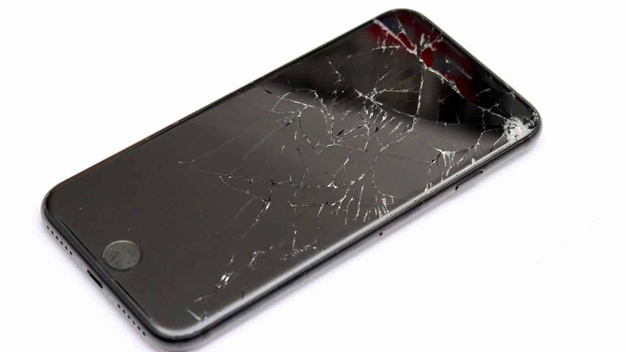 An iPhone repair Ipswich smashed screen replacement is required following a drop.
