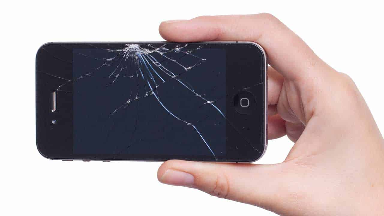 iPhone repair North Walsham smashed screen that needs a new one.