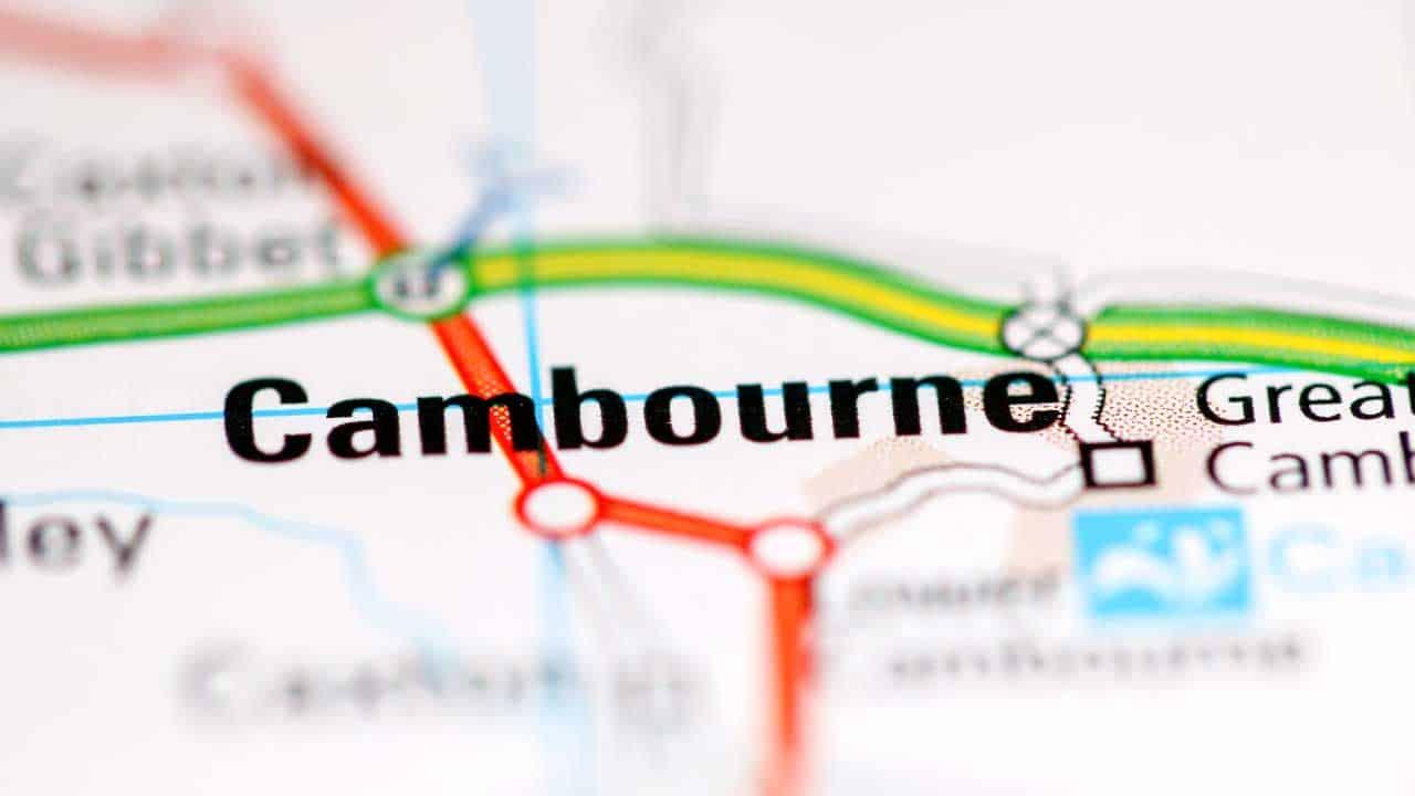 Phone repair Cambourne Cambridgeshire shop map.