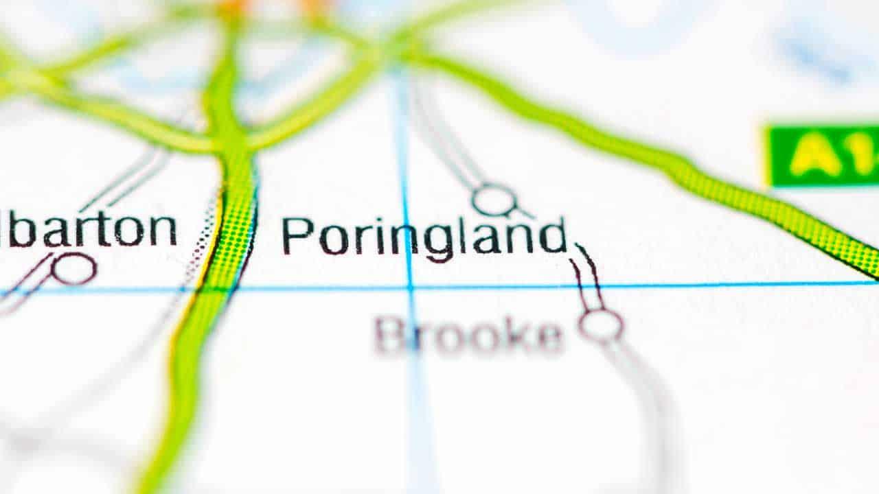 Phone repair Poringland Norfolk shop map.