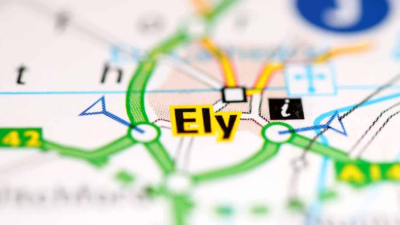 Phone repair Ely Cambridgeshire shop map.
