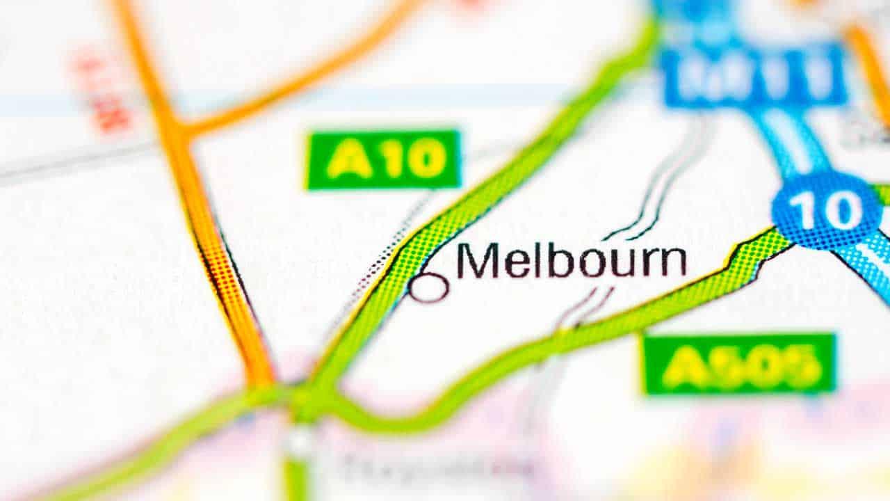 Phone repair Melbourn Cambridgeshire shop map.