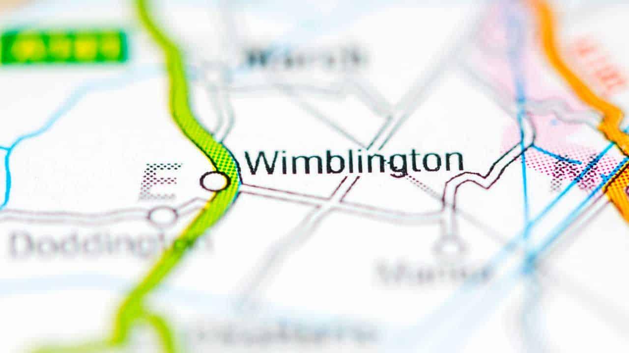 Phone repair Wimblington Cambridgeshire shop map.