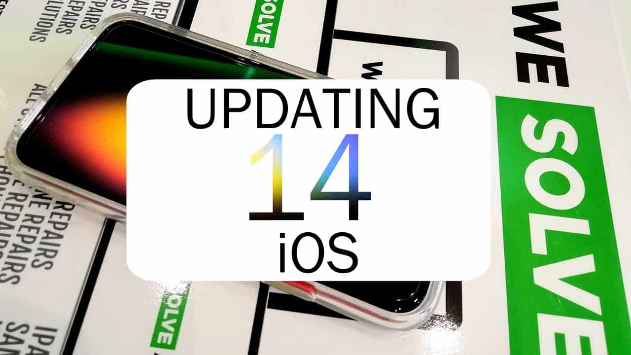 How to update Apple operating system iOS 14 for iPhone and iPad.