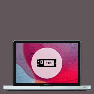 Apple MacBook Pro 1TB SSD replacement repair.