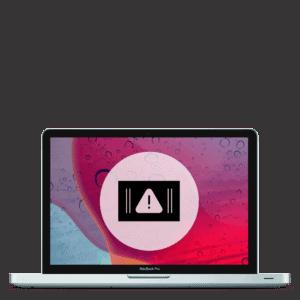 Apple MacBook Pro screen replacement repair for broken glass display.