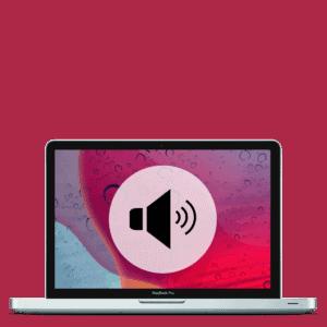 Apple MacBook Pro speaker replacement repair.