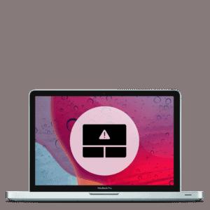 Apple MacBook Pro trackpad replacement repair.