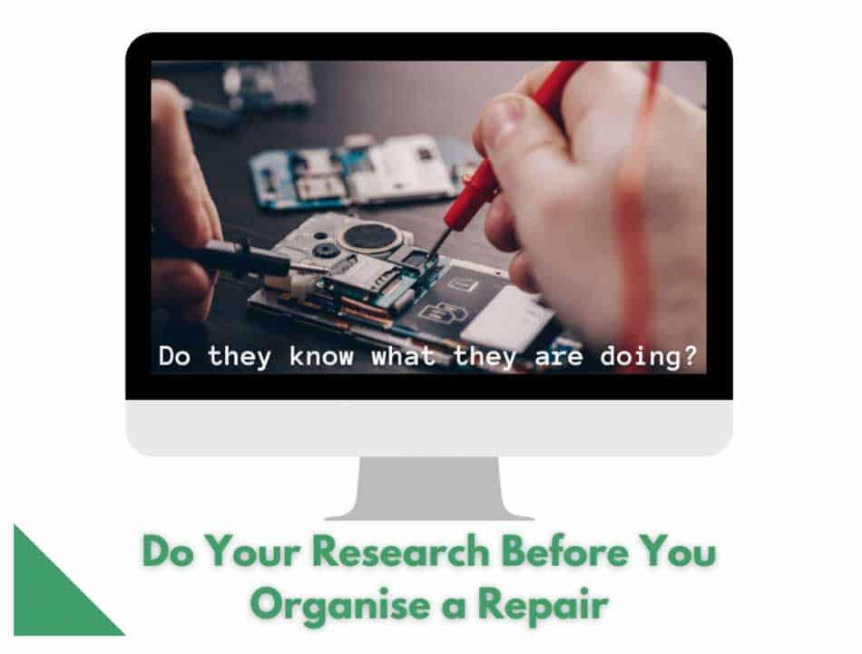 Research in to phone repair information.